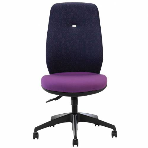 Purple desk chair