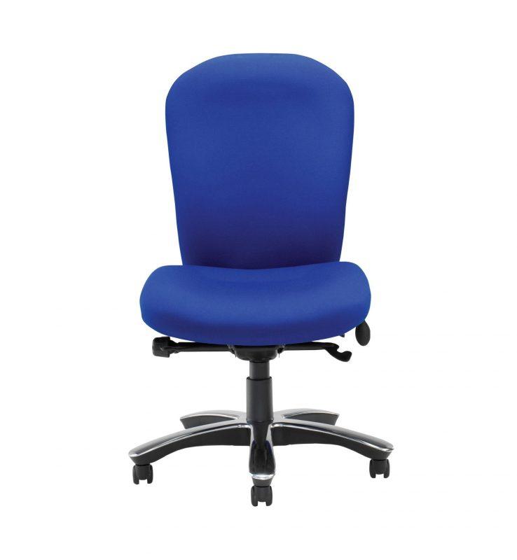 Blue Posturemax chair