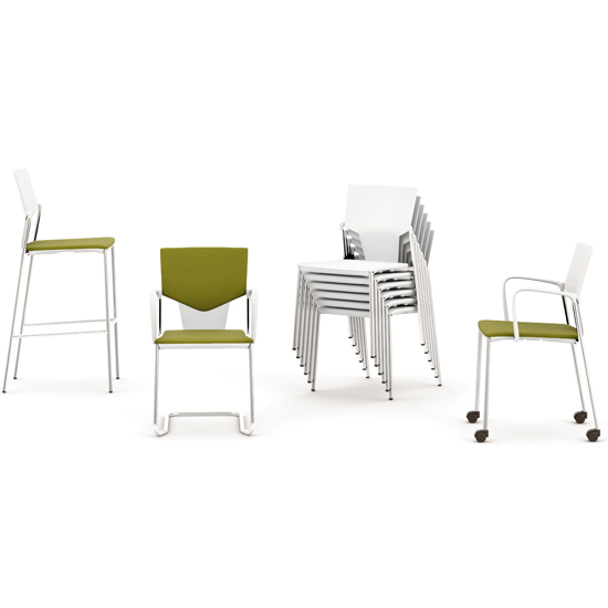 Ikon plastic meeting, visitor and conference chair range