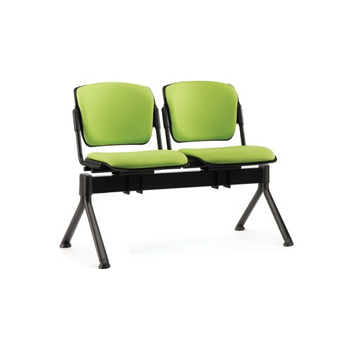 Lime green beam seating