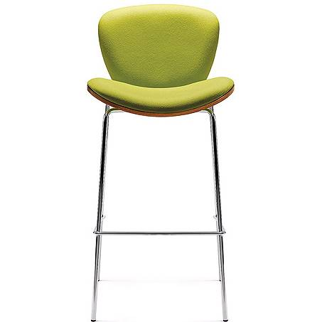 Lime green high stool